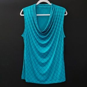Worthington | Pull Over Blouse | Size XL | Teal